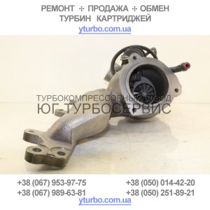Турбина Ford Focus II 2.5 ST, Ford Kuga I 2.5, Mondeo IV 2.5 Turbo, S-Max 2.5 Turbo, Volvo-PKW C30 2.5 T5, C30 2.5 T5, C70 II 2.5 T5, S40 II 2.5 T5, PKW V50 2.5 T5, 5304 988 0033 / 30650975