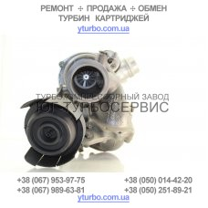 Турбина Mercedes 2.2CDI bi-turbo 5439 970 0075 / 6510900980